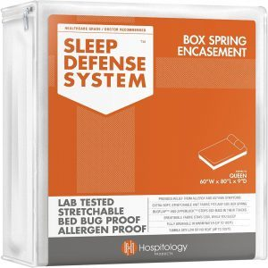 Sleep Defense System Box Spring Encasement