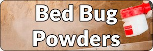 Bed bug powders and dusts banner