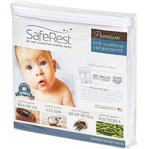 saferest crib bed bug encasement