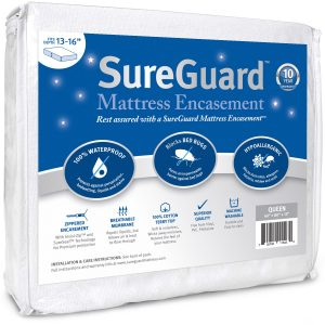 SureGuard Mattress encasement bed bug